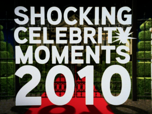 Shocking Celebrity Moments