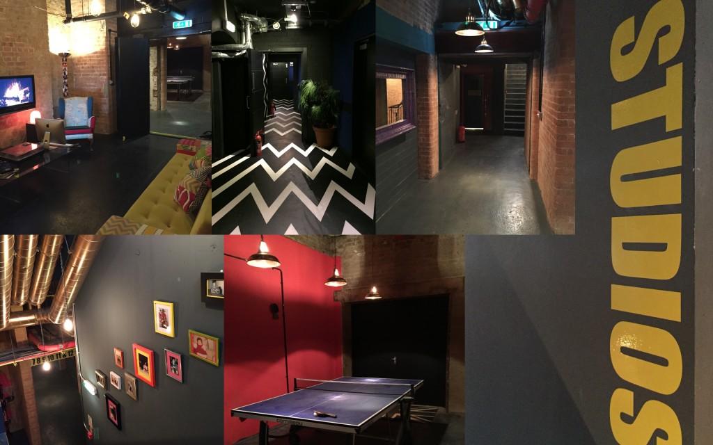 Studio montage Syncbox Audio Post London