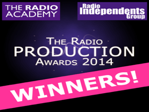 Best Sound Designer Radio Production Awards 2014