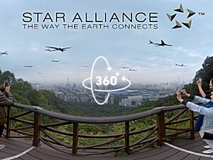 3D VR Sound Mix Star Alliance. A 360 video with spatialised audio for Virtual Reality.